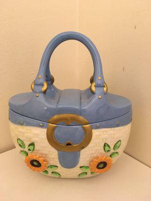 Vintage Handbag Cookie Jar for Sale in Bloomington, IN