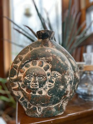 Vintage Sun & Moon vase and novelty for Sale in Spencerport, NY