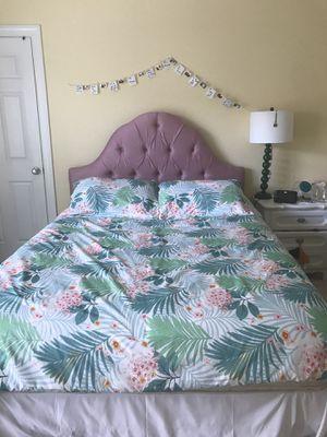 Head board / mattress and box spring for Sale in Ashburn, VA