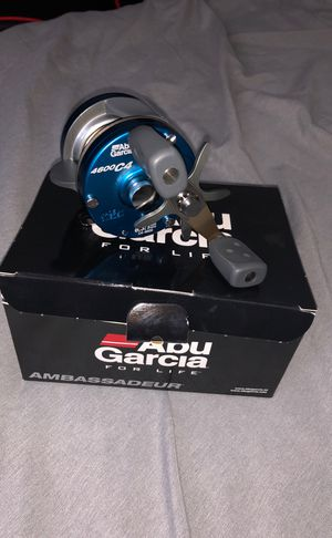 Abu Garcia ambassadeur 4600 c4 fishing rod for Sale in Seattle, WA
