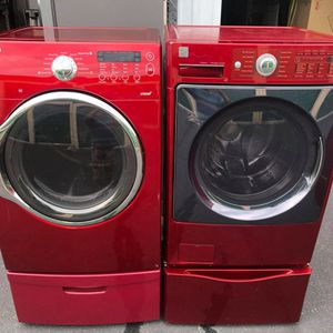 Samsung 7.3cuf Electric 220v Dryer And 3.9cuf Kenmore washer for Sale in Oceanside, CA