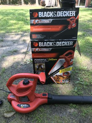 Black and Decker Electric Leaf Blower for Sale in Shamong, NJ