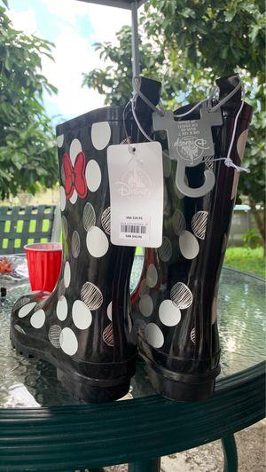 Disney Rain boots!! Never used for Sale in Miami, FL
