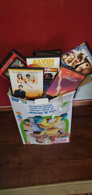 Big box of DVDs All different genres for Sale in Edmonds, WA