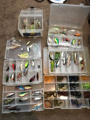 Fishing lures for Sale in Rockville, MD