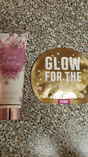 Victoria's secret lotion and Pink Mask - New! for Sale in Northglenn, CO