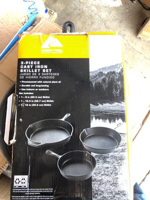 Cast Iron pans for Sale in Visalia, CA
