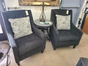 Gray Chair 🪑 Another Time Around Furniture 2811 E. Bell Rd for Sale in Phoenix, AZ