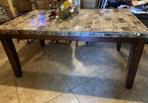 Nice big sturdy kitchen table$50 TABLE ONLY for Sale in Hanford, CA