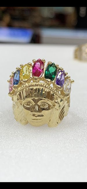 14 karat gold man ring made in Italy (MR300) for Sale in Houston, TX