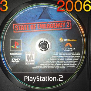 PS2 State of Emergency 2 disc for Sale in Phoenix, AZ