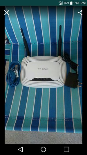 TP-Link Wireless 300MBps N Router for Sale in Nashville, TN