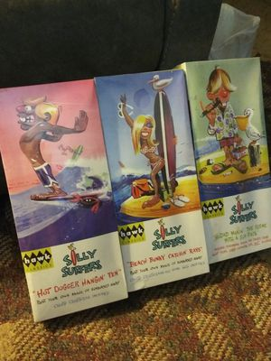 Hawk Classics - Silly Surfers (3) and (4) Weird-Ohs Model Kits for Sale in Pekin, IL
