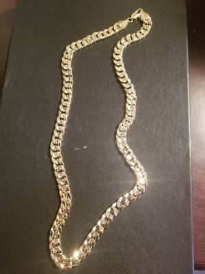 14k gold filled cuban chain. 24' 11mm for Sale in Middletown, CT