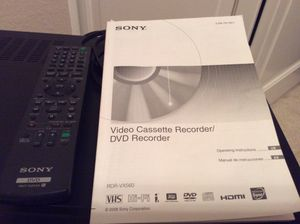 Sony VHS to DVD recorder for Sale in Phoenix, AZ