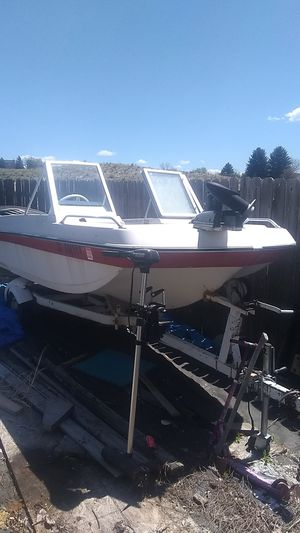 Boat & Troll motor for Sale in Parker, CO