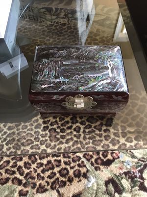 Antique jewelry box for Sale in Fairfax Station, VA