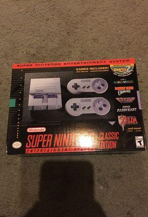 Super Nintendo classic snes mini brand new in box vhtf! for Sale in Millvale, PA