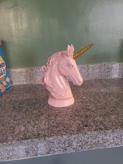 Pink Ceramic Unicorn for Sale in Portland,  OR