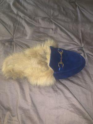 Gucci fur slides for Sale in Nashville, TN