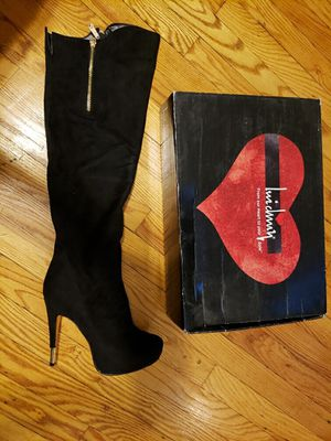 Black Knee to Thigh high boots size 9 for Sale in Chicago, IL