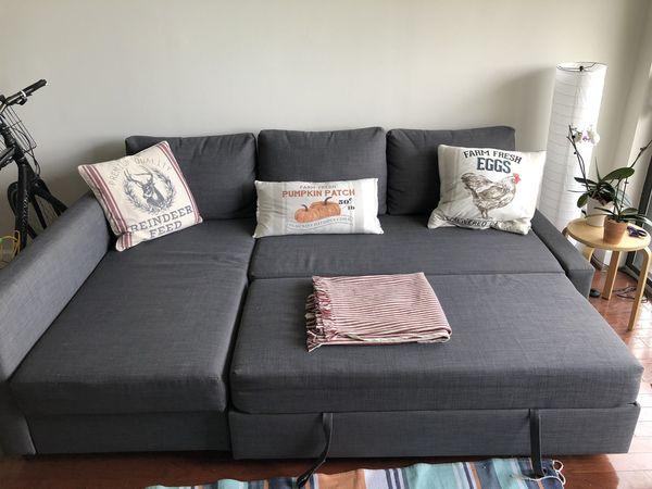 Sofa bed (Queen) IKEA 3 seats