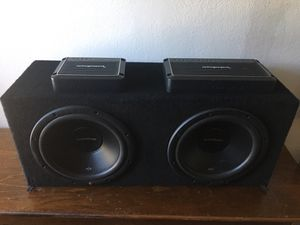 Fosgate amps & speakers for Sale in Stockton, CA