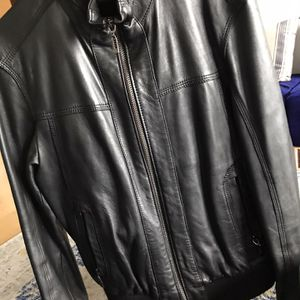 Moroccan leather jacket size M for Sale in Alexandria, VA