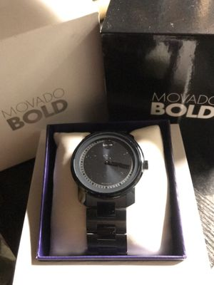 Movado bold watch for Sale in Fall River, MA
