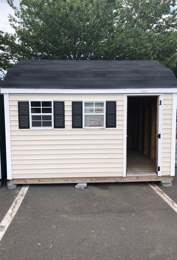 Vinyl shedsusa 10 x 12 shed at Ashburn Home Depot