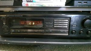 Onkyo tuner amp for Sale in Providence, RI