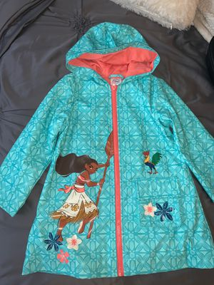 Moana rain coat kids for Sale in San Diego, CA