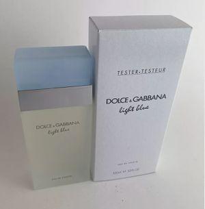 DOLCE GABBANA LIGHT BLUE WOMEN'S EDT 100ML 3.4 NEW IN BOX Tester Spray for Sale in Houston, TX