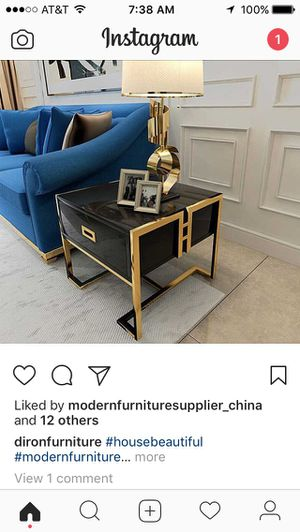 Asian inspired side end table for Sale in Doral, FL
