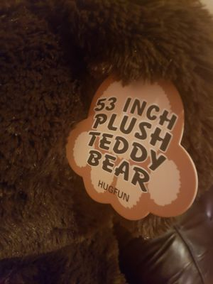 Hugfun 53 inch plush teddy bear for Sale in Antioch, CA