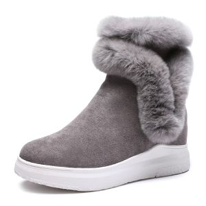 Womens Snow Boots Wedge Winter Warm Faux Fur Ankle Boots size#5 to 7 for Sale in Oshkosh, WI