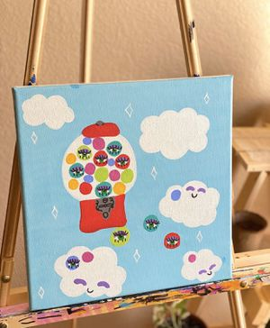 'gumball daydreams' painting for Sale in Concord, CA