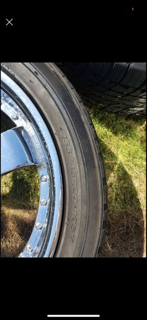 """20"""" rims chrome for Sale in Federal Way, WA"""