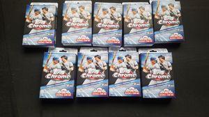 2020 Topps Chrome Baseball Hanger Boxes for Sale in Buckeye, AZ