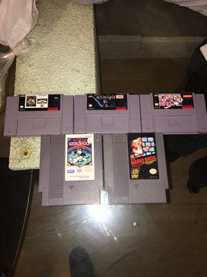 Super Nintendo and Nintendo games for Sale in Aurora, IL