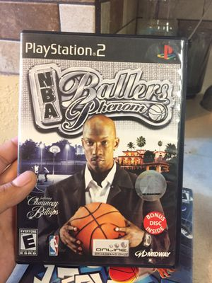 PS2 NBA Ballers for Sale in Seguin, TX