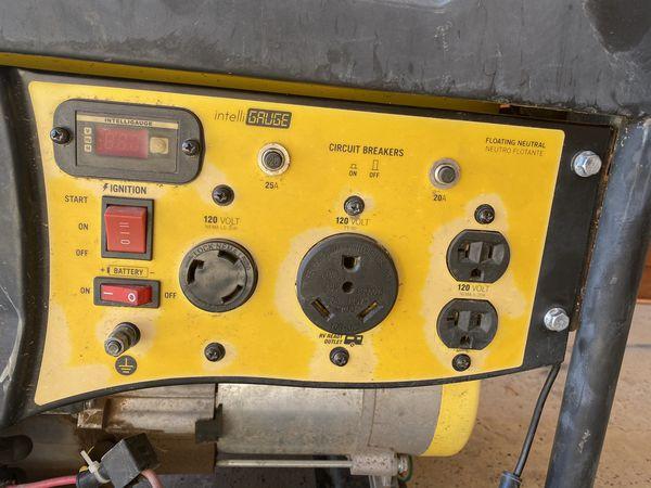 Champion 3500/4000 watt remote start generator