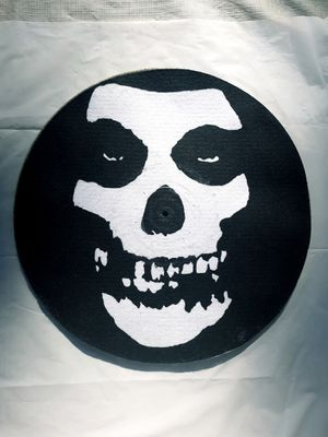 Misfits felt turntable DJ disc mat for Sale in Tacoma, WA