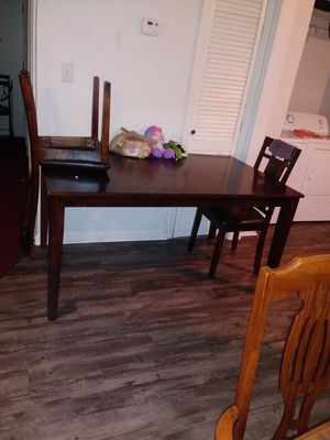 Dining room table with 2 chairs for Sale in Wichita, KS