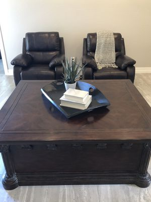 Storage coffee table for Sale in Gilbert, AZ