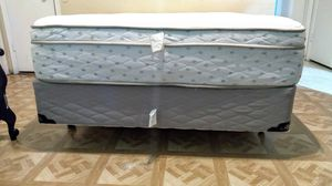Brand New full size bed Brooklyn bending pillow top mattress and box spring for Sale in Mesa, AZ