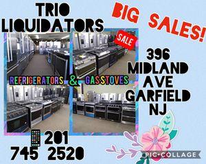 Refrigerators & Stoves SALE !! for Sale in Garfield, NJ