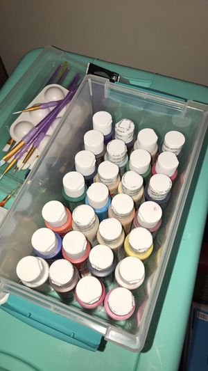 Brand New Art Supplies (paints, brushes, canvas, sketch books, etc.) for Sale in Salt Lake City, UT
