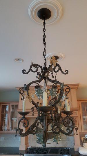 2 grape vine chandeliers for Sale in Mahwah, NJ