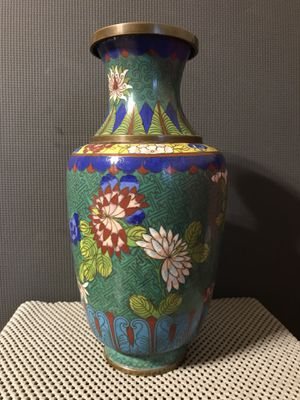Antique Chinese Cloisonne Vase for Sale in Kennesaw, GA